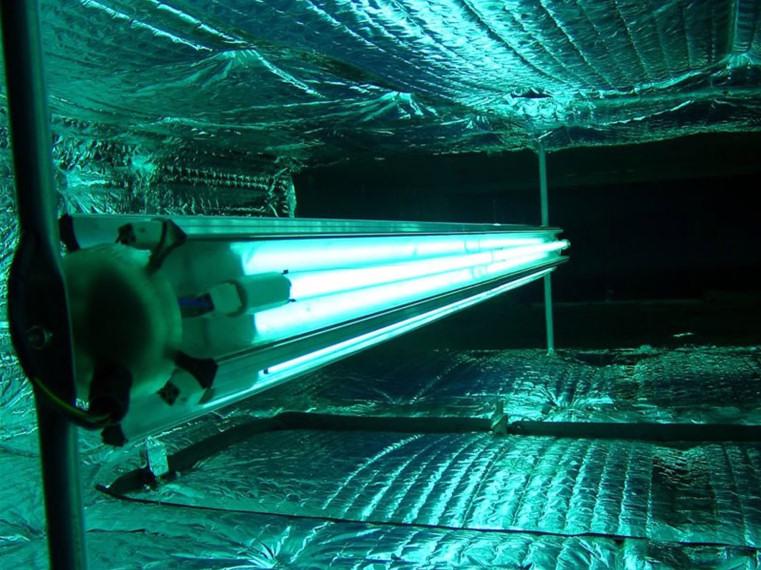 Plafoniere Per Lampade Germicide : Ariacube dispositivi ultravioletti per il trattamento dell aria